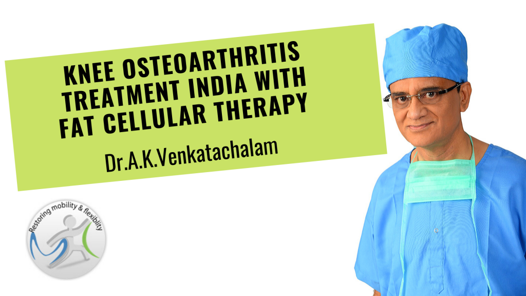 Stem cell therapy knee Chennai India