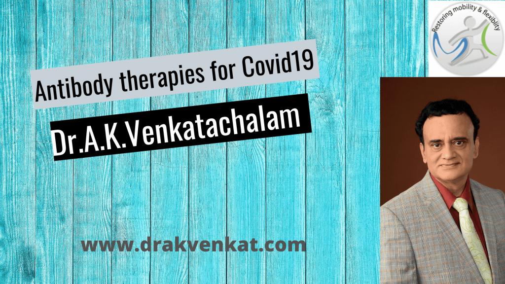 Antibody therapy Covid 19